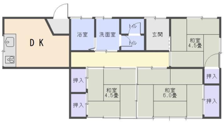 NO3625 愛知県北設楽郡東栄町本郷 売家